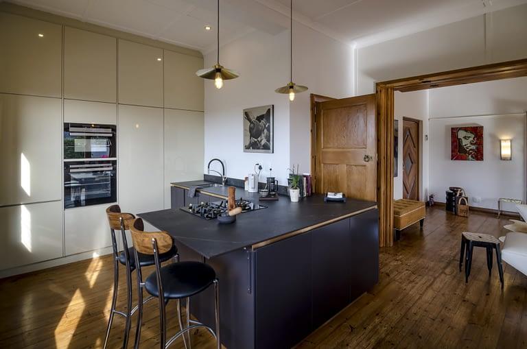 Kitchen open plan.